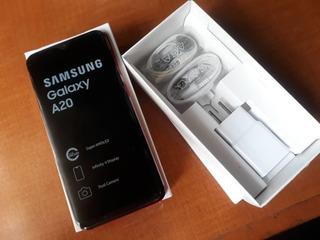 Telefono Celular Samsung A20 (150 Vrrrdss)