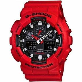 Relógio Casio G-shock Ga-100 Analógico/digital