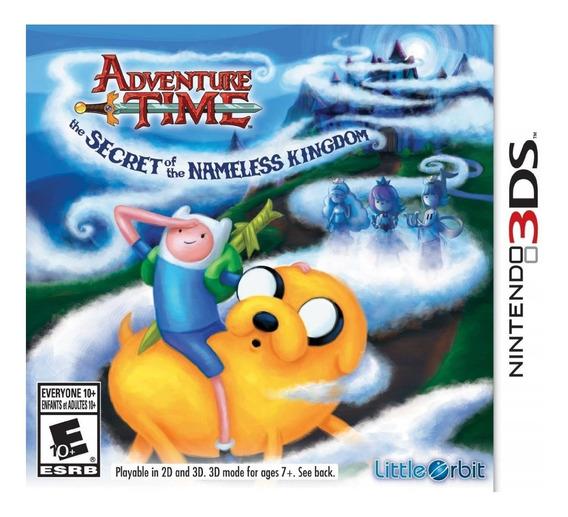 Jogo Adventure Time (novo) Nintendo 3ds