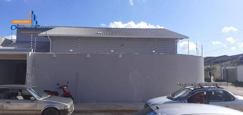 Imagem 1 de 12 de Casa Com 3 Dormitórios À Venda, 137 M² Por R$ 380.000 - Residencial Ayrton Senna - Anápolis/go - Ca1901
