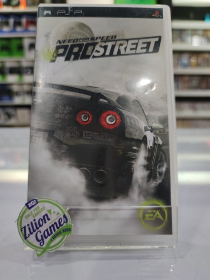 Need For Speed Pro Street Psp Original - Completo
