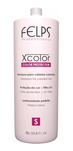 Felps Shampoo X Color 1 Litro + Brindes