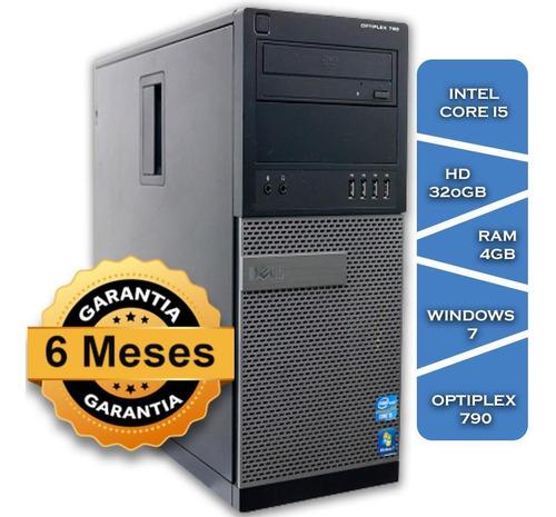 Imagem 1 de 3 de Pc Dell Optiplex 790 Core I5 2400º Hd320 4gb Ram Win7 Slim
