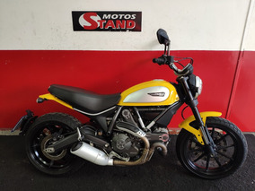 Ducati Scrambler Icon 2016 Amarela Amarelo