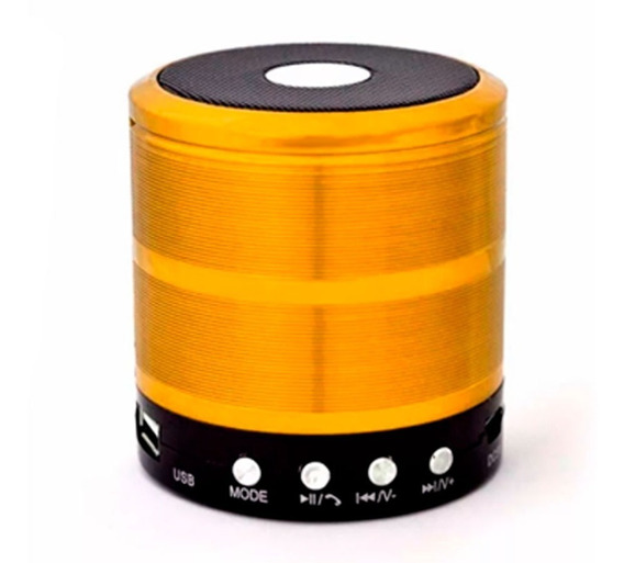 Caixa De Som Ws-887 Altomex Bluetooth Micro Sd Radio Fm Mp3