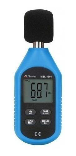 Decibelímetro Com Certificado Calibração Rbc Minipa Msl-1301