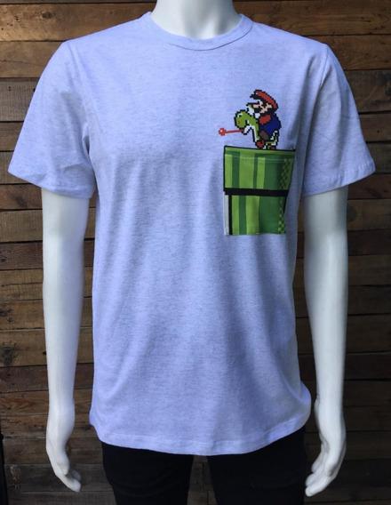 Playera Tipo Mario Bros 3 Nintendo Pocket
