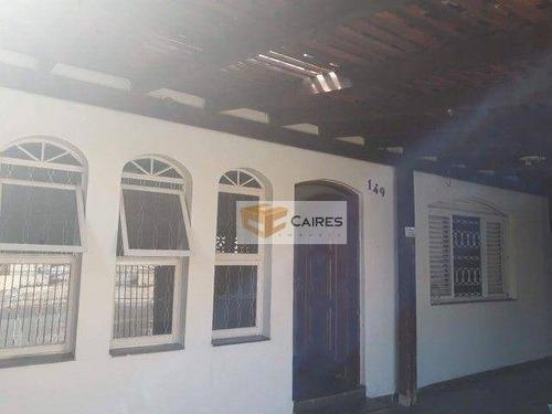 Casa Com 2 Dormitórios À Venda, 250 M² Por R$ 405.000,00 - Jardim Anton Von Zuben - Campinas/sp - Ca3224