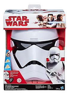 Star Wars Episodio 8 Storm Trooper Mascara Electrónica