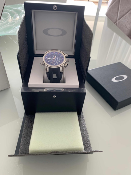 Relógio Oakley 12 Gauge Chrono Rubber Strap