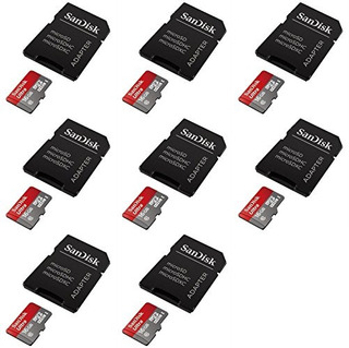 8 X Cantidad De Lg G4 16gb Micro Sd Tarjeta De Memoria Sdhc