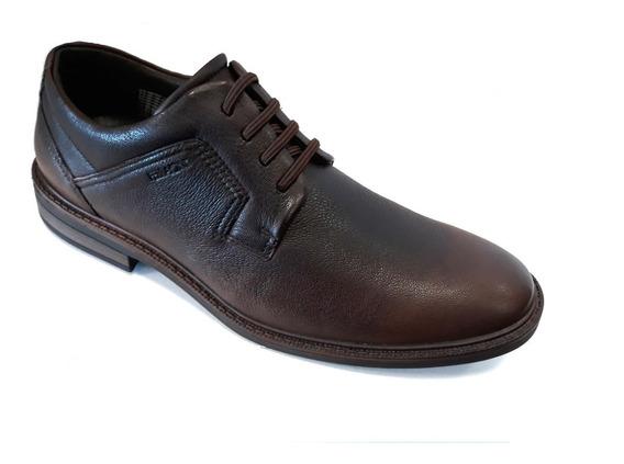 Zapato Hombre Casual Ferracini React Cuero Vacuno 39 Al 45