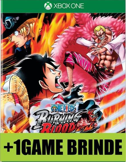 One Piece Burning Blood Xbox One Mídia
