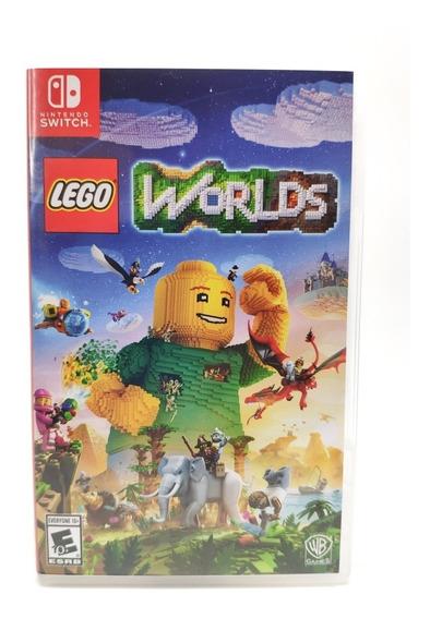 Jogo Lego Worlds - Nintendo Switch - Mídia Física