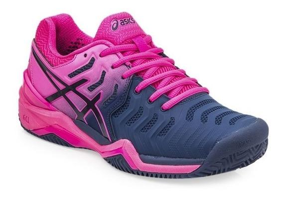Zapatillas Tenis Asics Gel Resolution 7 Mujer Palermo Tenis