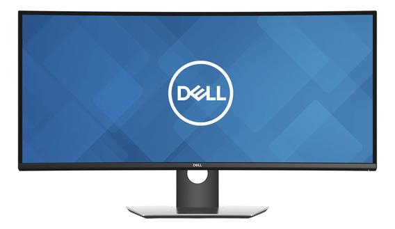 "Monitor curvo Dell UltraSharp U3419W led 34"" negro y gris 100V/240V"