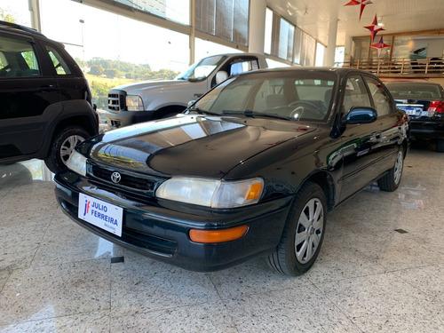 Imagem 1 de 8 de Toyota Corolla 1.8 Le Manual Gasolina Preto