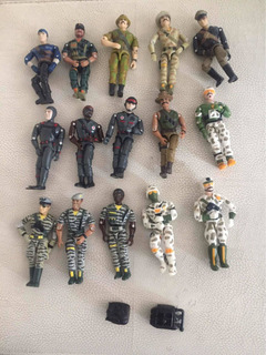 Lanard The Corps Lote De 15 Figuras Vintage Gi Joe