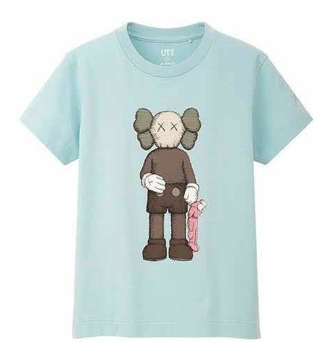 Playera Tshirt Kaws X Uniqlo Companion Niño Kids Original