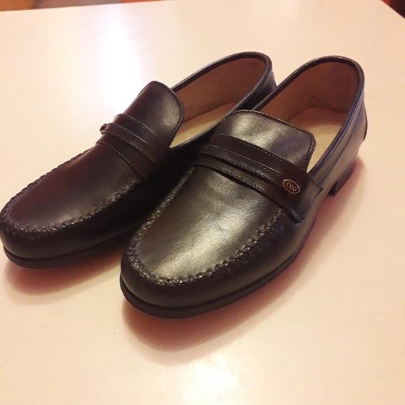 Zapatos Mocasines.suela Febo