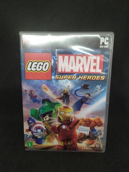 Lego Marvel Super Heroes Original E Manual Pc Usado
