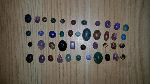 Lote De Piedras En Cabujon Diferentes Medidas Y Tipos