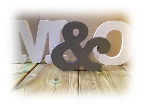 Imagen 1 de 4 de Letras, Nombres, Logos, Figuras, Recuerdos, En Mdf, De 30cm