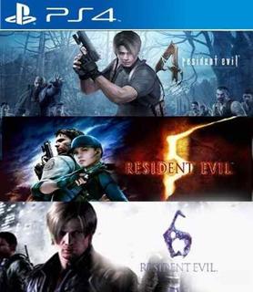 Resident Evil 4 5 6 Ps4 Digital