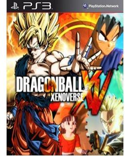 Dragon Ball Xenoverse + Season Pass Ps3 Digital Con Dlcs