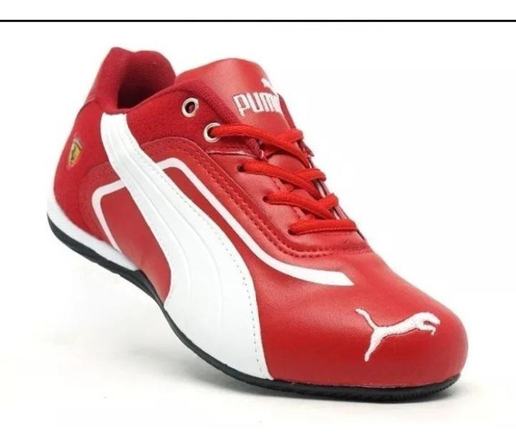 Tenis Masculino Casual Ferrari Black Friday