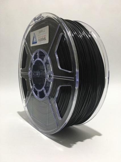 Filamento 3d Flexível Tpu -1,75mm - 1 Kg - Frete Grátis