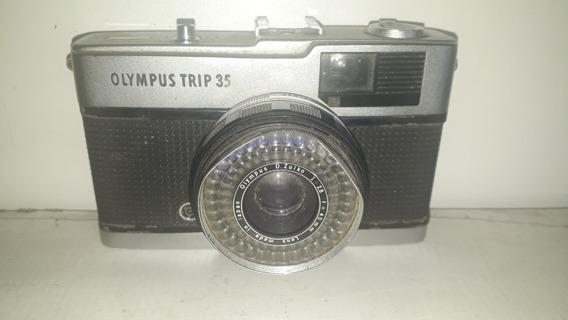 Camera Fotografica Olympus Trip 35 Sem Teste