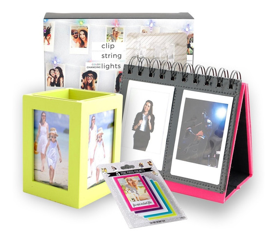 Kit De Accesorios Instax Mini 4 Pack