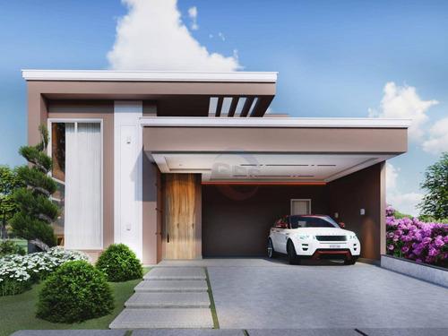 Imagem 1 de 10 de Casa Com 3 Dormitórios À Venda, 198 M² Por R$ 1.199.000,00 - Condomínio Jardim Piemonte - Indaiatuba/sp - Ca11651