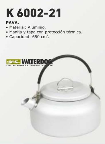 Pava Waterdog Aluminio Camping Trekking Outdoors Tribunales!
