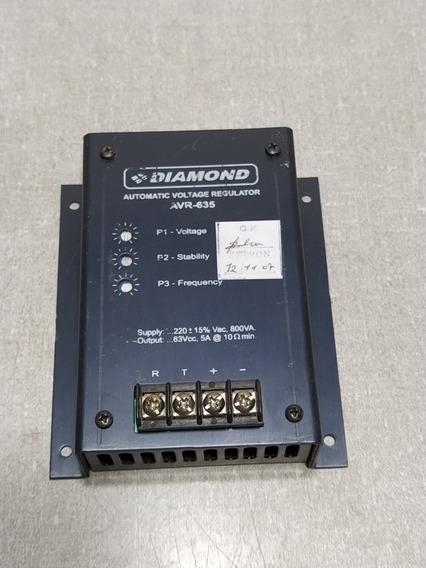 Regulador De Tensao Avr635 Diamond