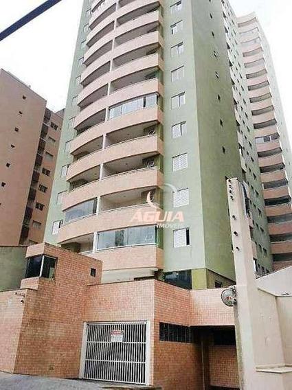 Apartamento Com 3 Dormitórios À Venda, 106 M² Por R$ 615.000,00 - Vila Valparaíso - Santo André/sp - Ap2218