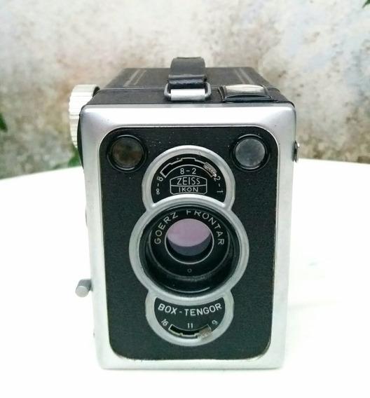 Câmera Fotográfica Zeiss Ikon, Modelo Box Tengor