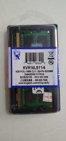 Memoria P/note 4gb Kingston Ddr3 1600mhz Kvr16ls11/4