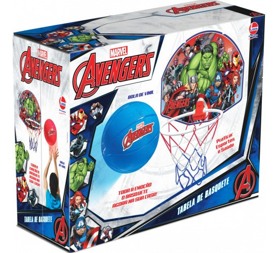 Tabela De Basquete Avengers