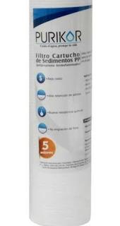 Filtro Pulidor Polyspum 2.5x20. 10 Micras 6 Pzas