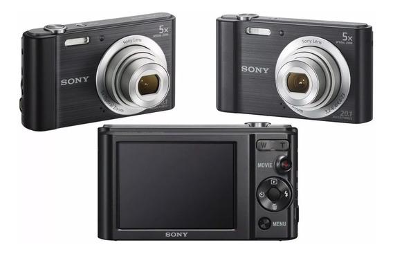 Câmera Digital Sony Dsc - W800 20.1 Mpx Envio Imediato Nf-e