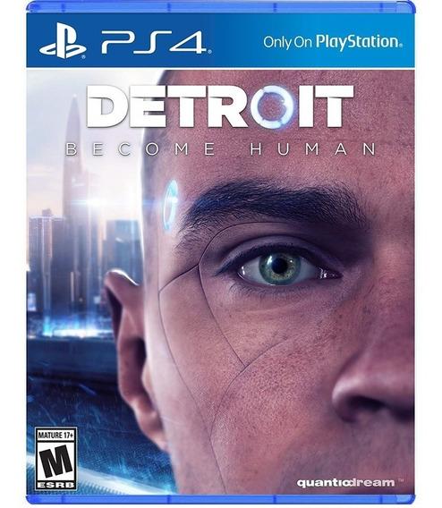 Detroit Become Human Ps4 Novo Português Original Lacrado