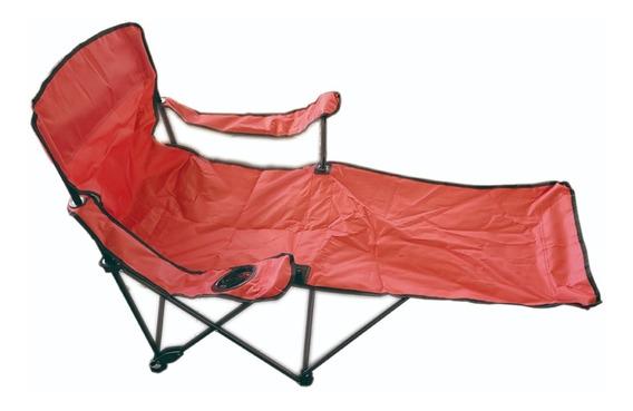 Silla Tipo Camastro Plegable De Playa Camping Pesca Outdoors