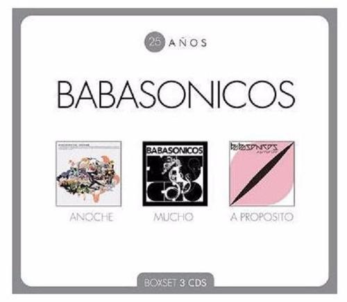 Imagen 1 de 1 de Babasonicos 25 Años 3 Cd Nuevo Mucho Anoche A Proposito