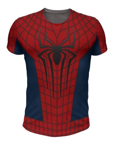 Remera Spiderman Andrew Garfield, Sorprendente Hombre Araña