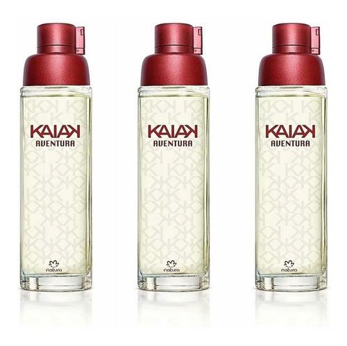 Perfume Kaiak Aventura Femenino X 3 - mL a $583
