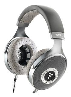 Auriculares Focal Clear Over-ear High-resolution Audiophile (gray)