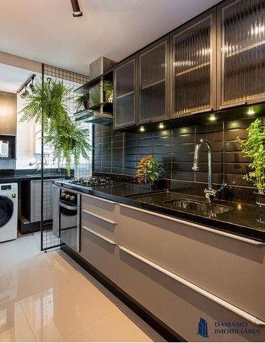 Apartamento Novo Decorado 3 Dormitórios 95,65m² - Var0155