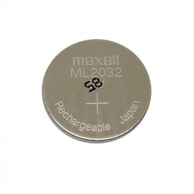 Bateria Recarregável Ml2032 De 3v